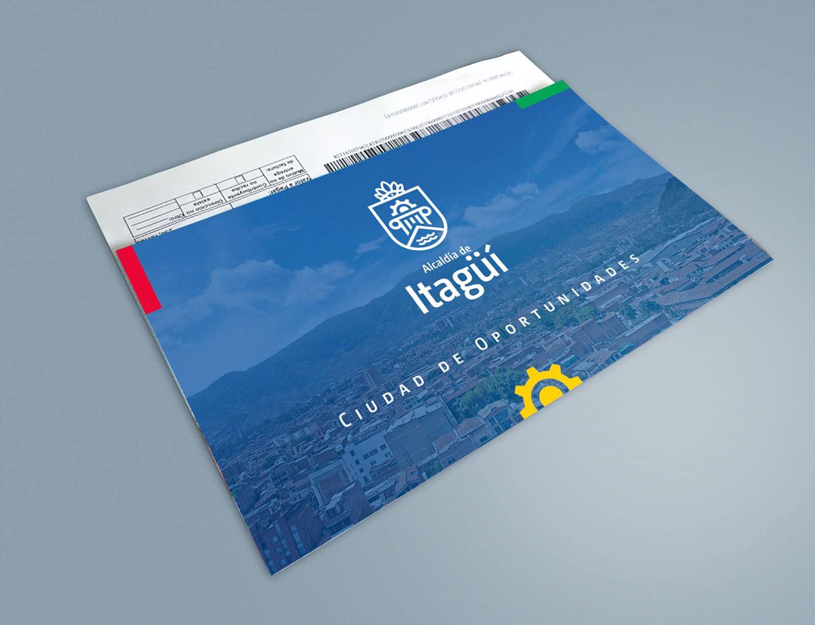 Identidad visual Alcaldía de Itagüí