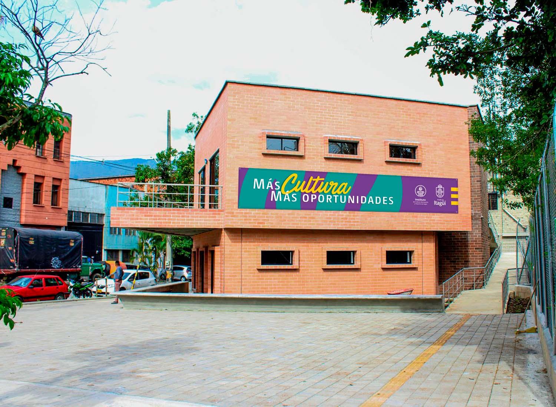Aviso Casa de la Cultura de Itagüí